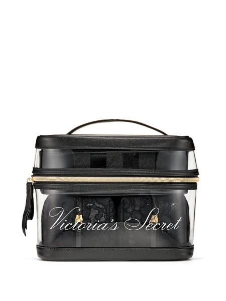 Набор косметичек VICTORIA'S SECRET Floral Lace 4-in-1 Beauty Bag Set