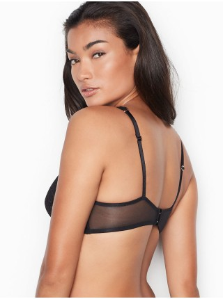 Бюстгальтер Victoria's Secret Dream Angels Unlined Plunge Bra Black