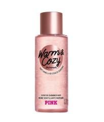 Спрей для тела Виктория Сикрет Pink Warm & Cozy Shimmer VICTORIA'S SECRET