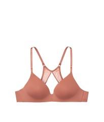 Бюстгальтер Victoria's Secret Lightly Lined Wireless Bra Brandied Peach
