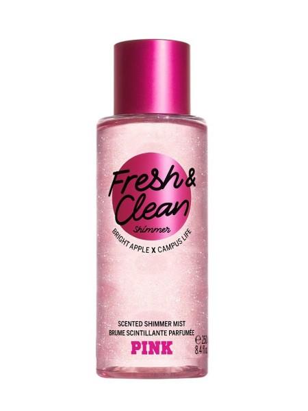 Спрей для тела Виктория Сикрет PINK FRESH & CLEAN SHIMMER