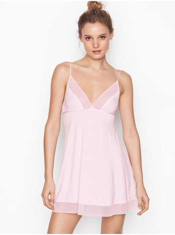 Пенюар Victoria's Secret super soft pink