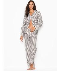 Фланелевая пижама ВИКТОРИЯ СИКРЕТ Victoria's Secret Flannel Long Pj set