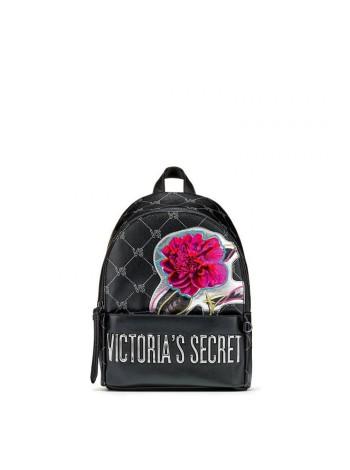 Рюкзак Victoria's Secret Monogram Small City Backpack Black