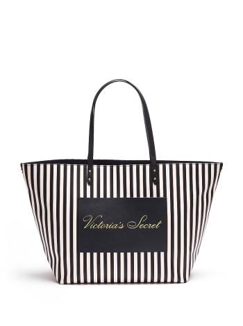 Пляжная сумка Victoria's Secret Signature Stripe Tote