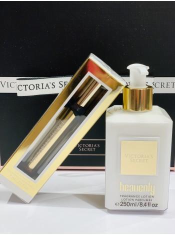 НЕЗЕМНОЙ ПОДАРОЧНЫЙ НАБОР КОСМЕТИКИ - HEAVENLY VICTORIA'S SECRET Fragrance set