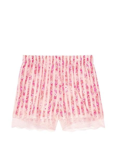 Шорты VS Cotton ShortPink & Flower print