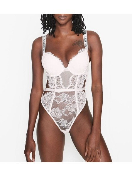 Боди Victoria's SecretVERY SEXY Bombshell push-up coconut white