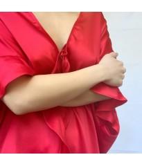 Халат Victoria's Secret Flounce Sleeve Satin Love Print