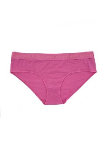 Трусики Victoria's Secret Hiphugger Cotton Logo Pink