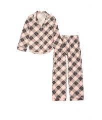 Пижама Victoria's Secret Flannel Long PJ Set Animal print