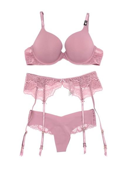 Комплект белья Victoria's Secret Very Sexy  Push-up  с поясом