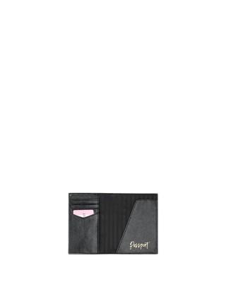 Обложка для паспорта Victoria's Secret black studded