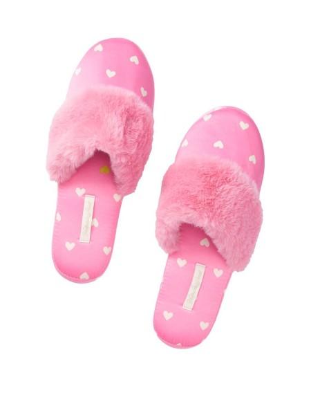 Домашние тапочки VS Slippers Pop Heart Pink