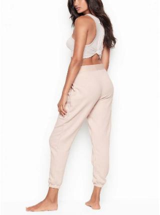 Спортивные штаны Victoria's Secret SPORT пудрового цвета