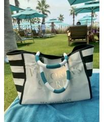 Пляжная сумка Victoria's Secret Beach Tote Sea Sand Sun print