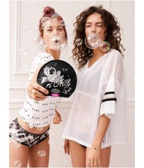 Маска для лица Victoria's Secret PINK Bubble & Chill Charcoal Bubbling Sheet Mask