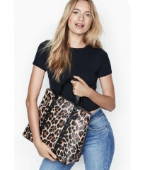 Рюкзак Victoria's Secret Studded Convertible Backpack Animal Print - Leopard
