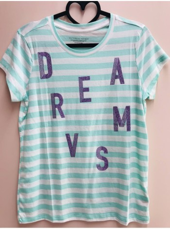 Футболка Victoria's Secret SPORT PINK print DREAM