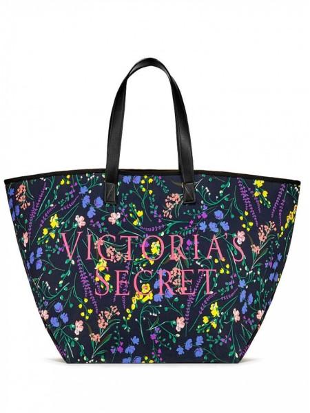 Пляжная сумка Victoria's Secret Beach Tote Floral print