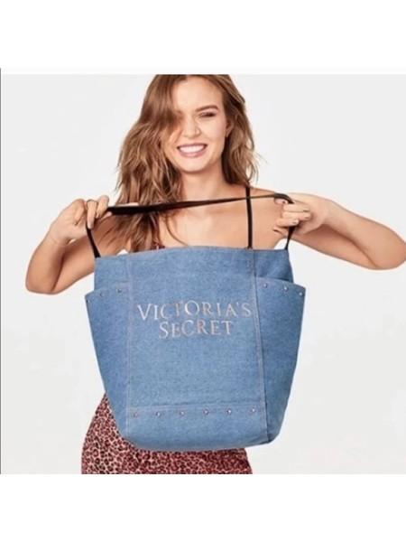 Пляжная сумка Victoria's Secret Beach Tote Denim