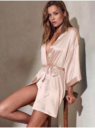 Халат Victoria's Secret satin pink