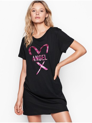 Футболка для сна Victoria's Secret print Angel