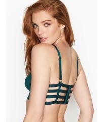 Бюстгальтер Victoria's Secret Bralette logo mesh ivy