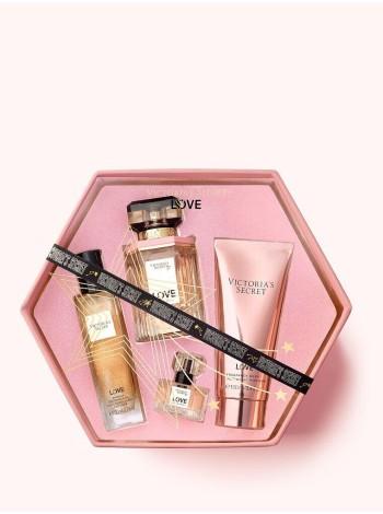Подарочный набор Victoria's Secret Luxury Gift Set LOVE