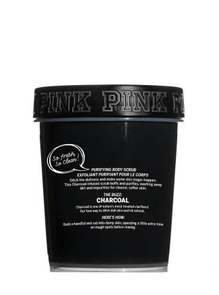 Скраб Victoria's Secret Pink Detox Scrub Charcoal Purifying Body Scrub