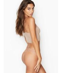 Трусики кружевные стринги Victoria's Secret Lace Thong panty