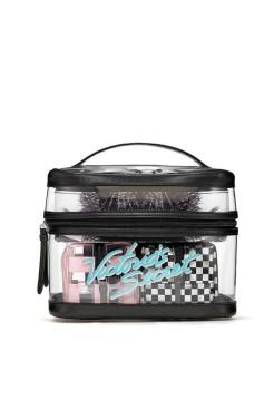 Victoria's Secret Graphic Tease 4-in-1 Beauty Bag set