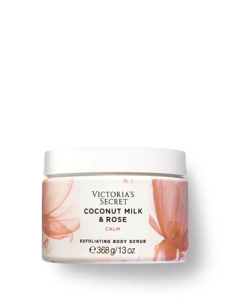 Скраб Victoria's Secret Natural Beauty Exfoliating Body Scrub Coconut Milk & Rose CALM