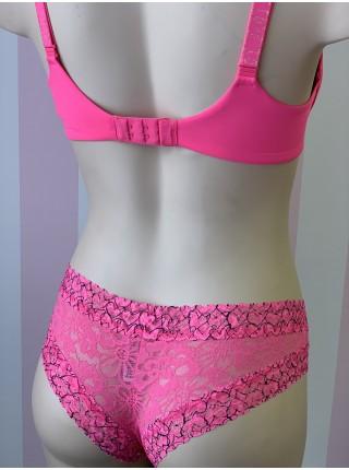 Комплект белья Victoria's Secret t-shirt lightly lined demiBra set