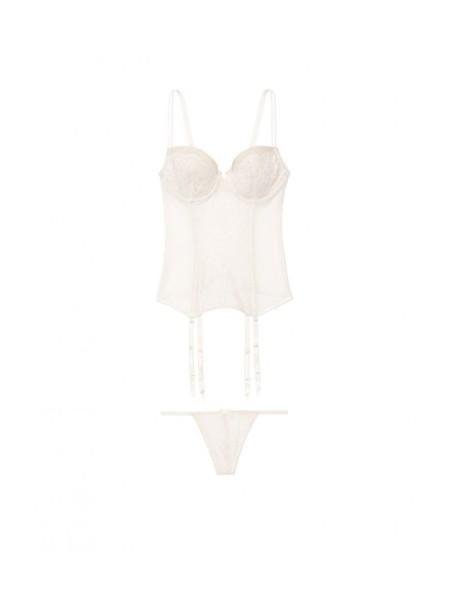 Боди Victoria's Secret Very Sexy White Lace Babydoll