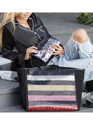Пляжная сумка с пайетками Victoria's Secret