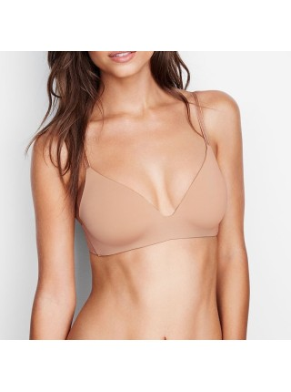 Бюстгальтер Victoria's Secret T-SHIRT Lightly Lined Wireless Bra beige