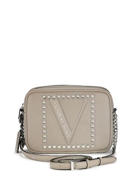 Сумка Виктория Сикрет The Victoria Top Zip crossbody V-logo