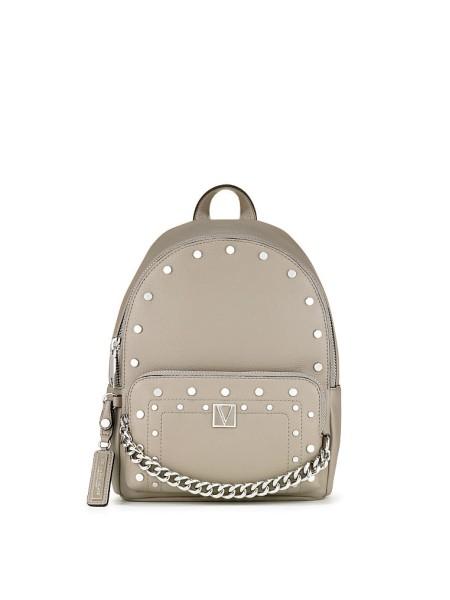 Рюкзак Victoria's Secret серый V-logo