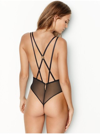 Боди Victoria's Secret Very Sexy Love by Victoria Unlined Plunge Lace Teddy