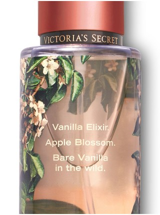 Bare Vanilla Untamed Victoria's Secret - спрей для тела VS