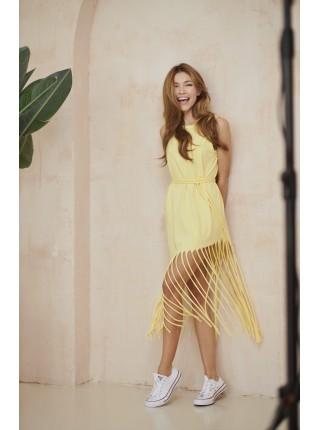 Платье с бахромой Twishi