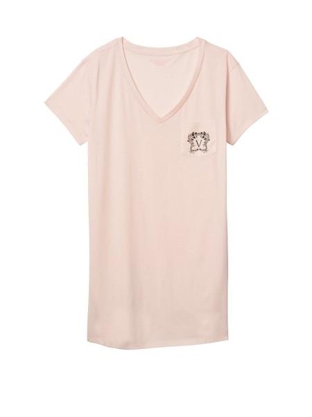 Ночная рубашка VS Cotton Sleepshirt V logo