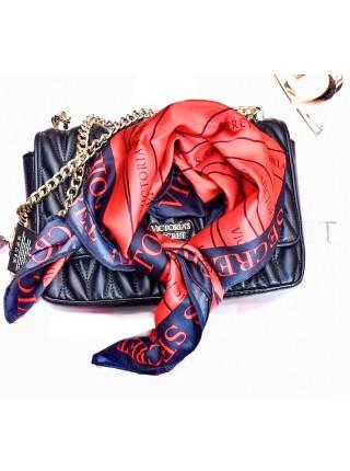 Сатиновый шарфик Victoria's Secret RED logo VS