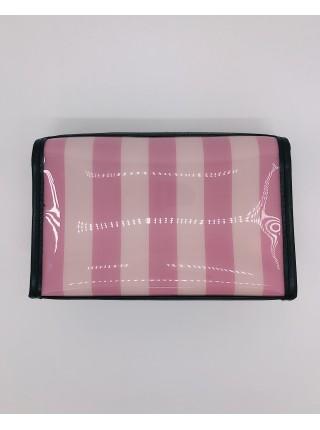 Косметичка в полоску Victoria's Secret Beauty bag Signature Stripes