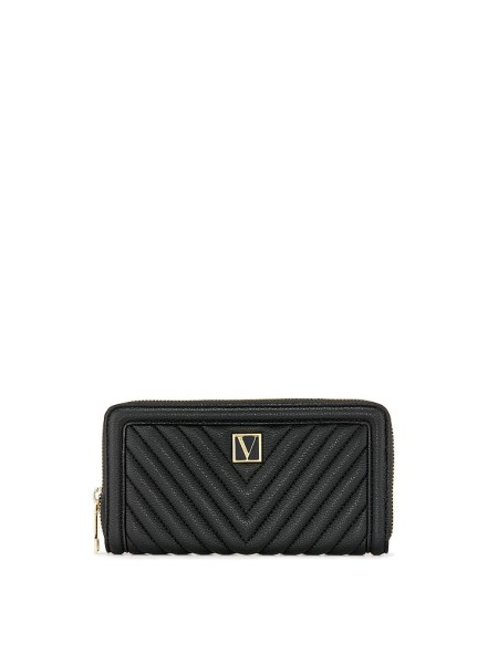 Кошелек Victoria's Secret The Victoria Wallet V-Quilt Black
