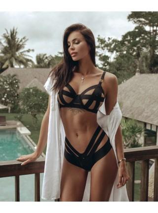 Комплект белья Victoria's Secret Very Sexy LUXE LINGERIE Unlined Strappy Demi Bra Set