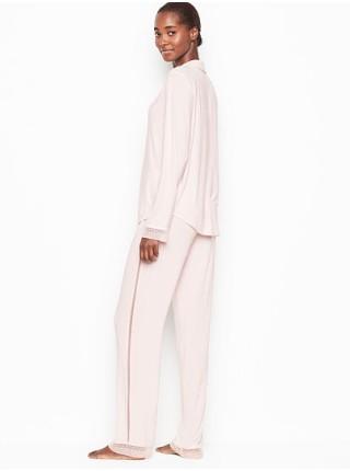Пижама Victoria's Secret PJ Set Long Super soft