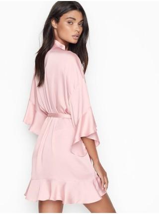 Халат Кимоно Victoria's Secret Very Sexy Flounce Satin Kimono Robe