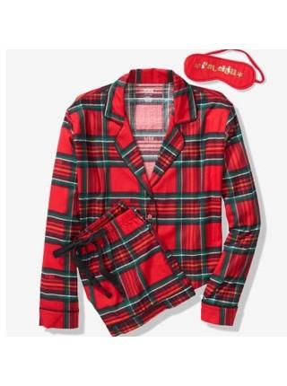Пижама Victoria's Secret PINK Flannel PJ SET